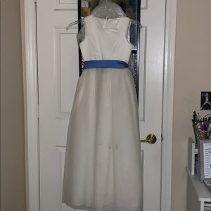 David's Bridal Flower Girl/ Communion dress